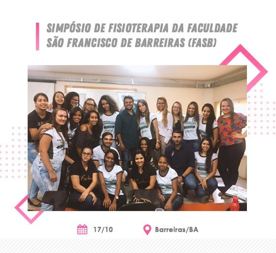 Conselheiro do CREFITO-7 ministra palestra no Simpósio de Fisioterapia da Faculdade São Francisco de Barreiras (FASB)