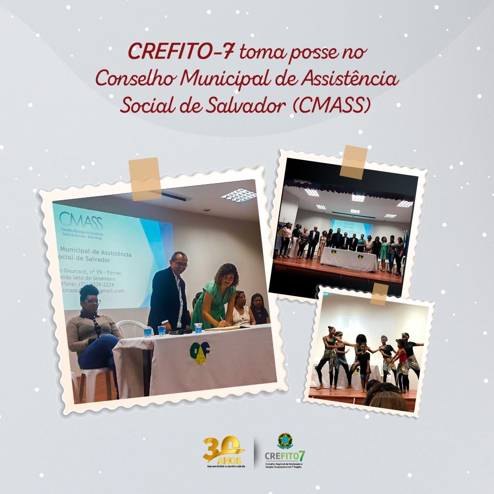 CREFITO-7 assume suplência no Conselho Municipal de Assistência Social de Salvador (CMASS)