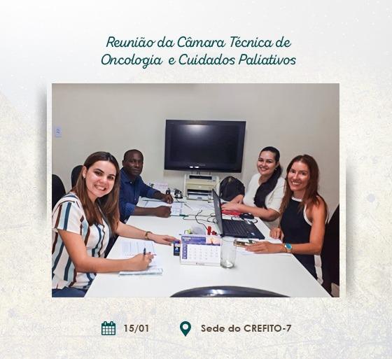 Reunião da Câmara Técnica de Oncologia e Cuidados Paliativos