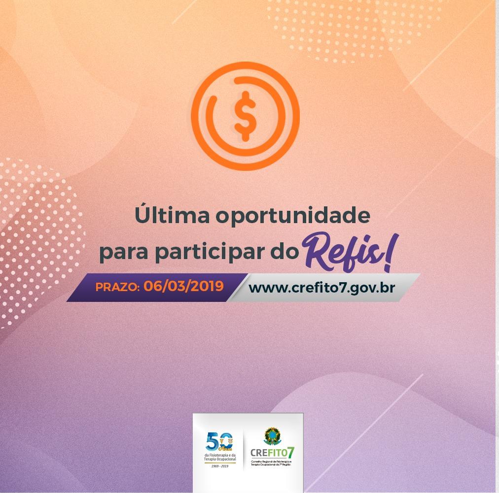 O prazo para participar do REFIS está terminando!