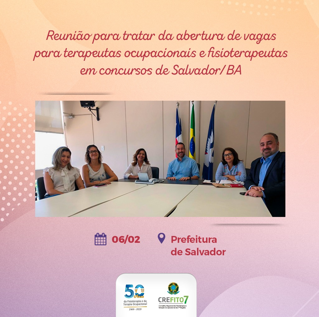 Reunião na Prefeitura de Salvador/BA