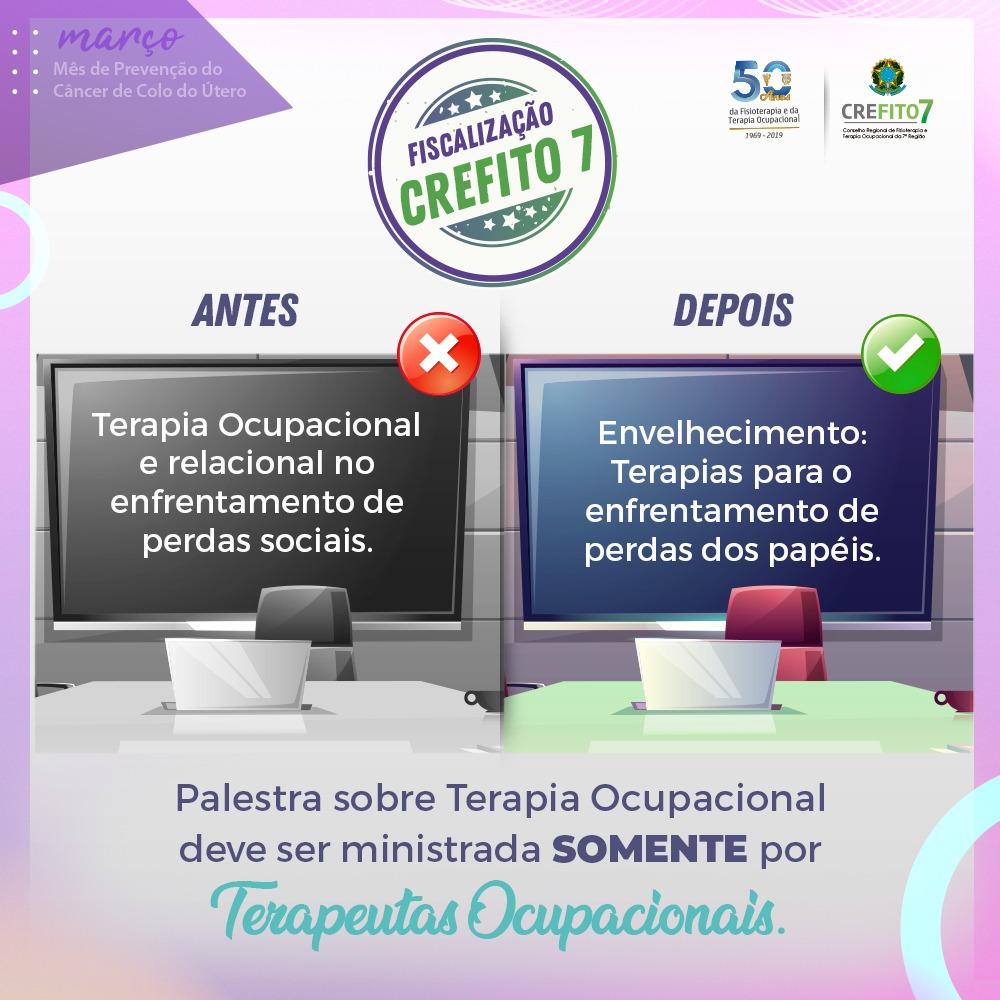 CREFITO-7 e CRP-03 promovem ação conjunta