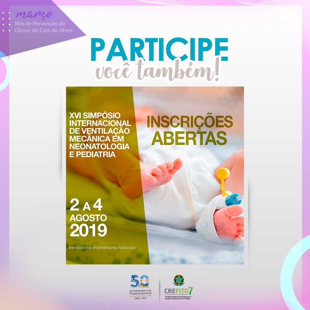 XVI Simpósio Internacional de Ventilação Mecânica em Neonatologia e Pediatria