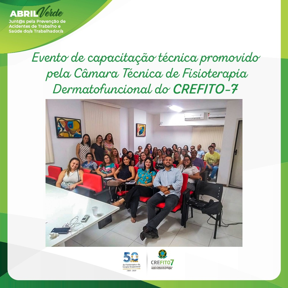 Câmara Técnica de Fisioterapia Dermatofuncional promove capacitação técnica dos agentes fiscais