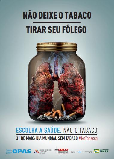 Materiais do Dia Mundial sem Tabaco