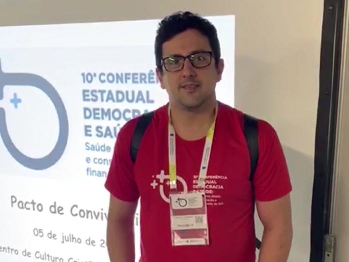 CREFITO-7 participa da 10ª Conferência Estadual de Saúde da Bahia (Conferes)