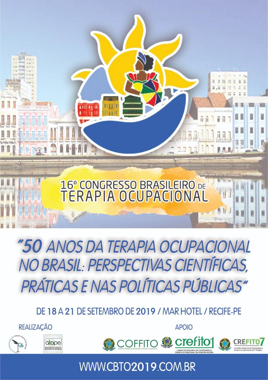 16ºCongresso Brasileiro de Terapia Ocupacional