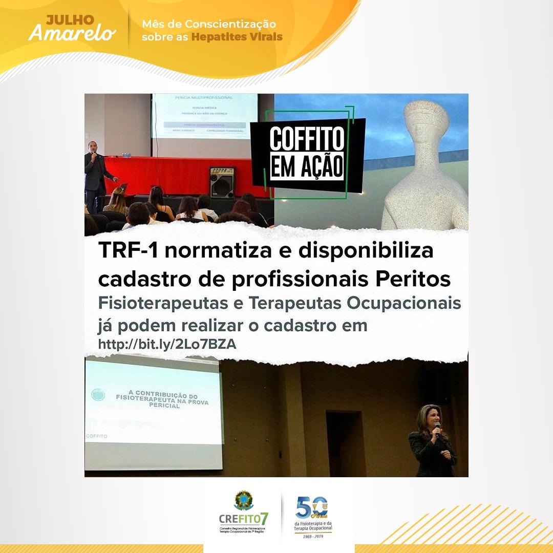 TRF-1 normatiza e disponibiliza cadastro de profissionais Peritos.