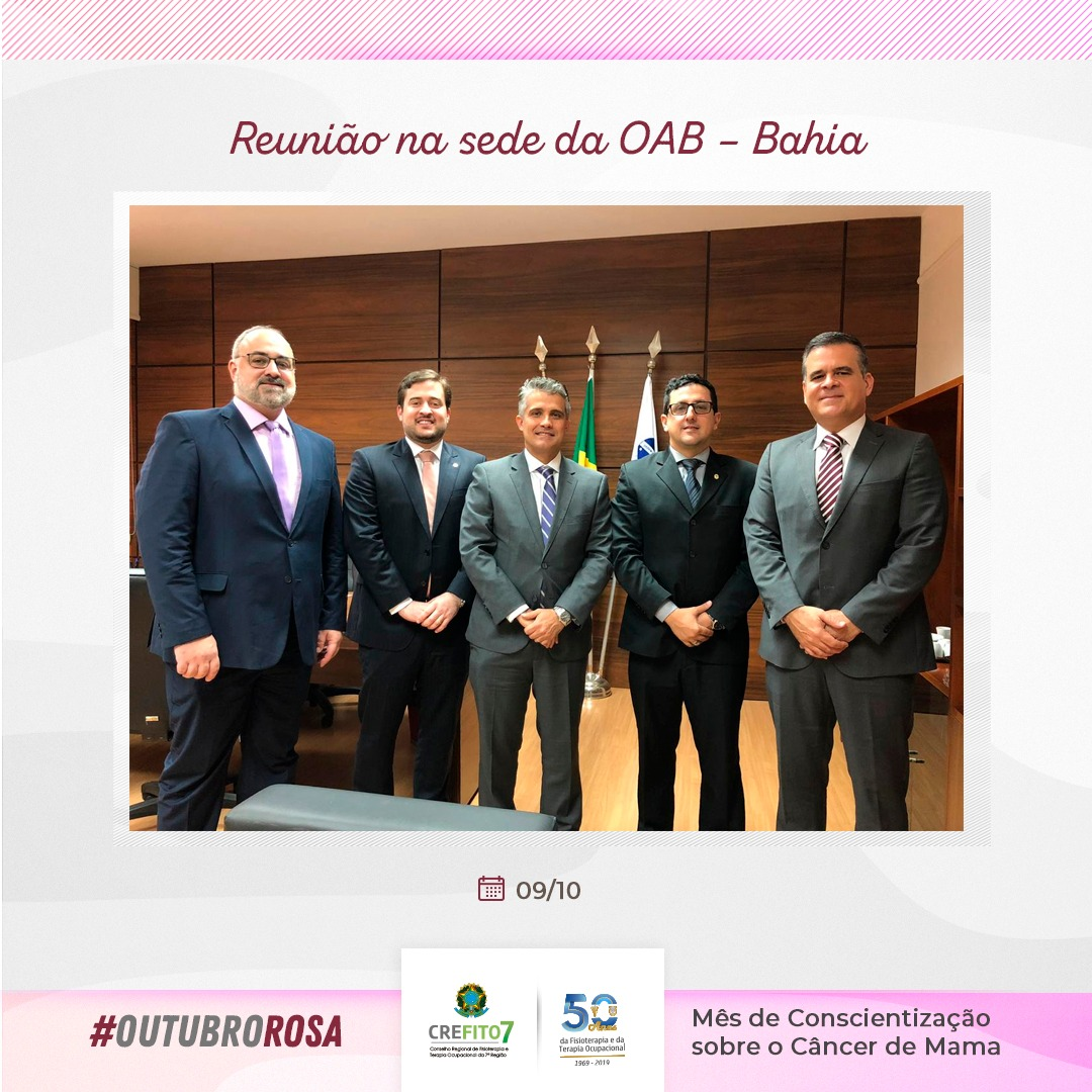 Reunião na sede da OAB-Bahia