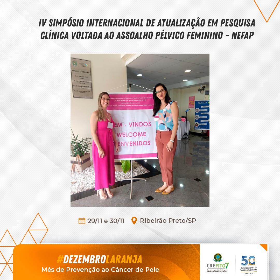 IV Simpósio Internacional de Atualização em Pesquisa Clínica voltada ao Assoalho Pélvico Feminino