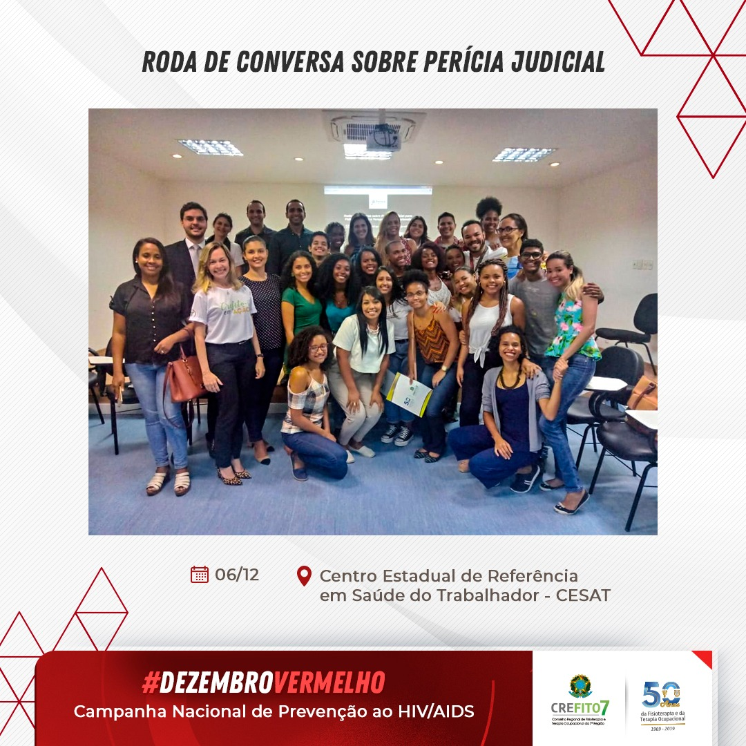 Roda de Conversa sobre Perícia Judicial para Fisioterapeutas e Terapeutas Ocupacionais