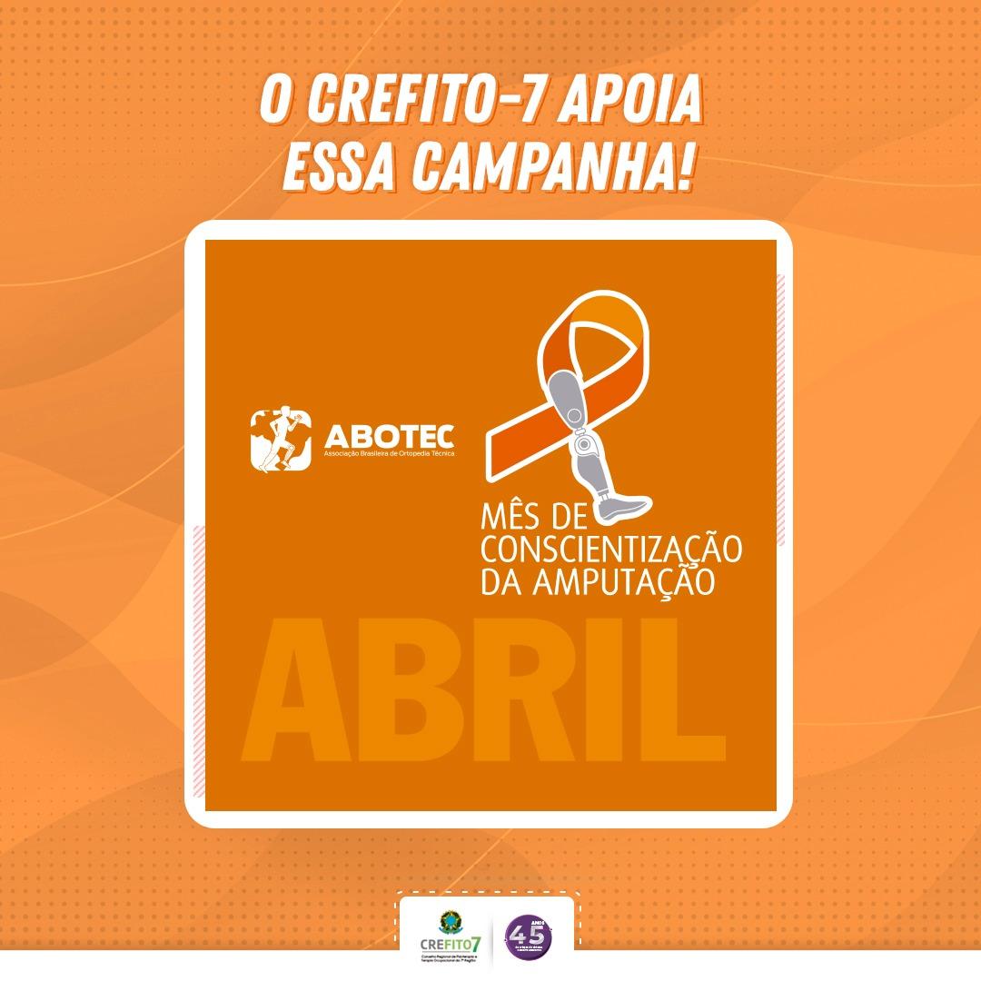 Abril Laranja - Mês de Conscientização da Amputação