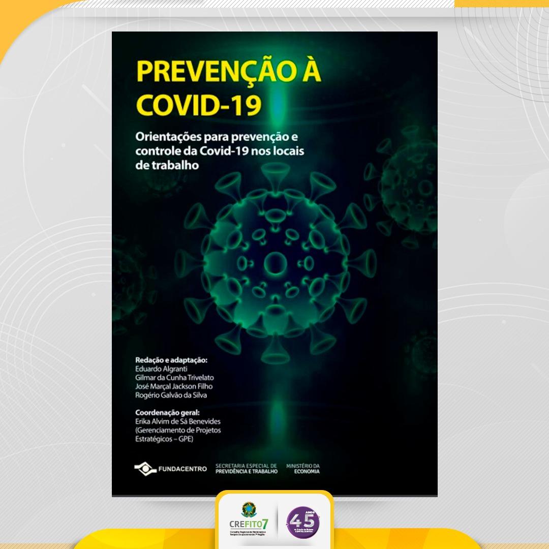FUNDACENTRO lança cartilha com orientações para prevenção e controle da COVID-19 nos locais de trabalho
