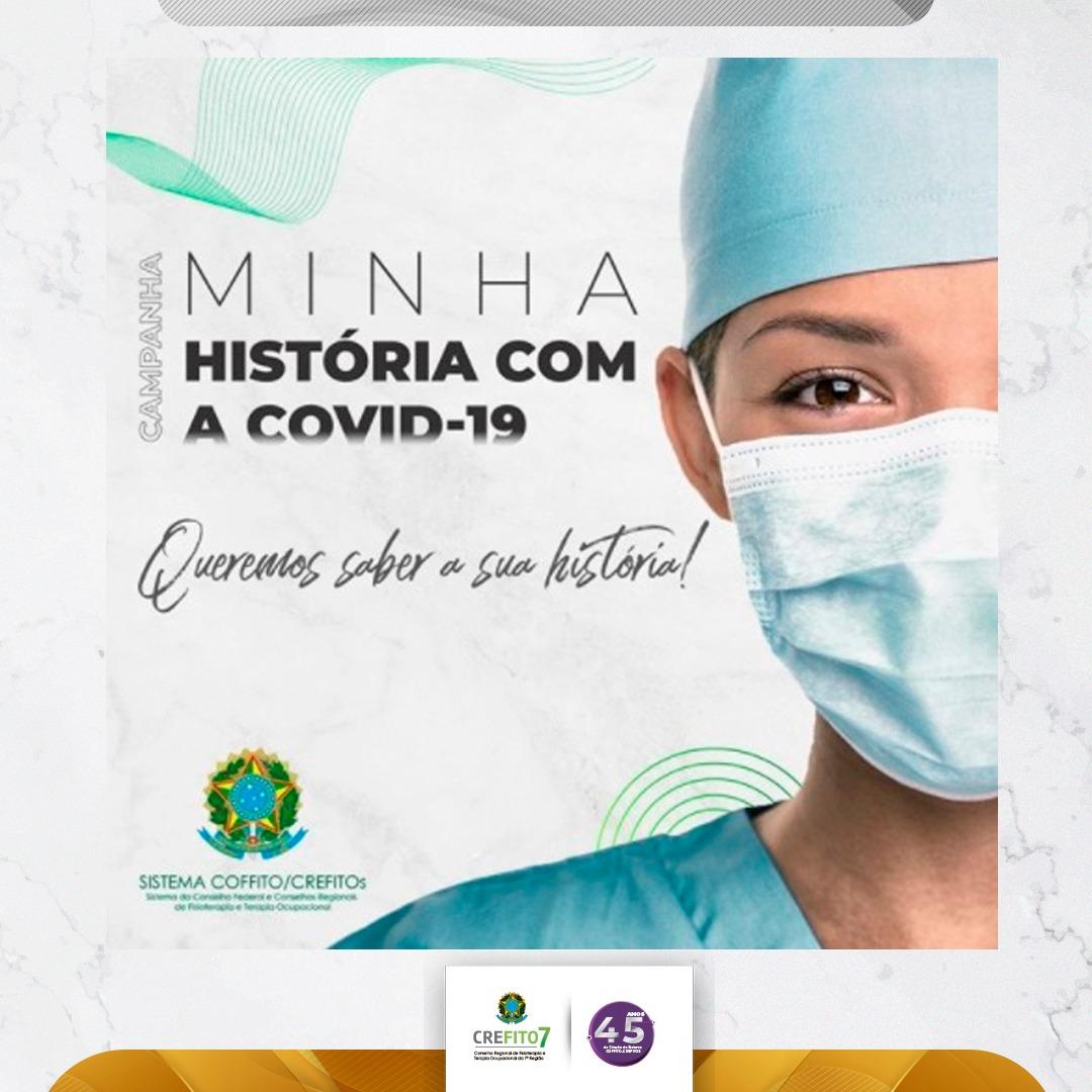 """COFFITO lança campanha """"Minha história com a COVID-19"""""""