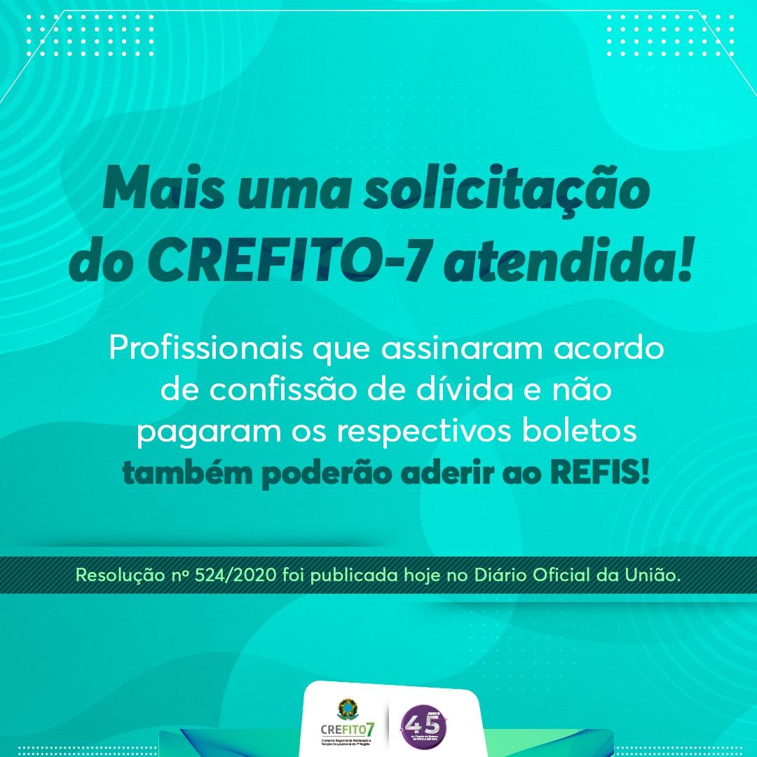 Mais uma solicitação do CREFITO-7 atendida!