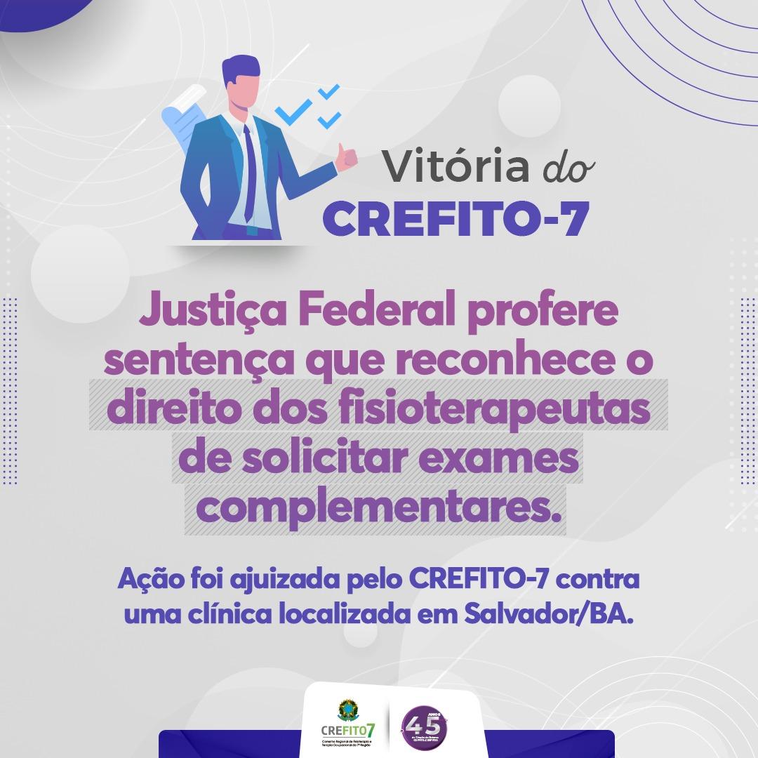 Justiça Federal profere sentença que reconhece o direito dos fisioterapeutas de solicitar exames complementares
