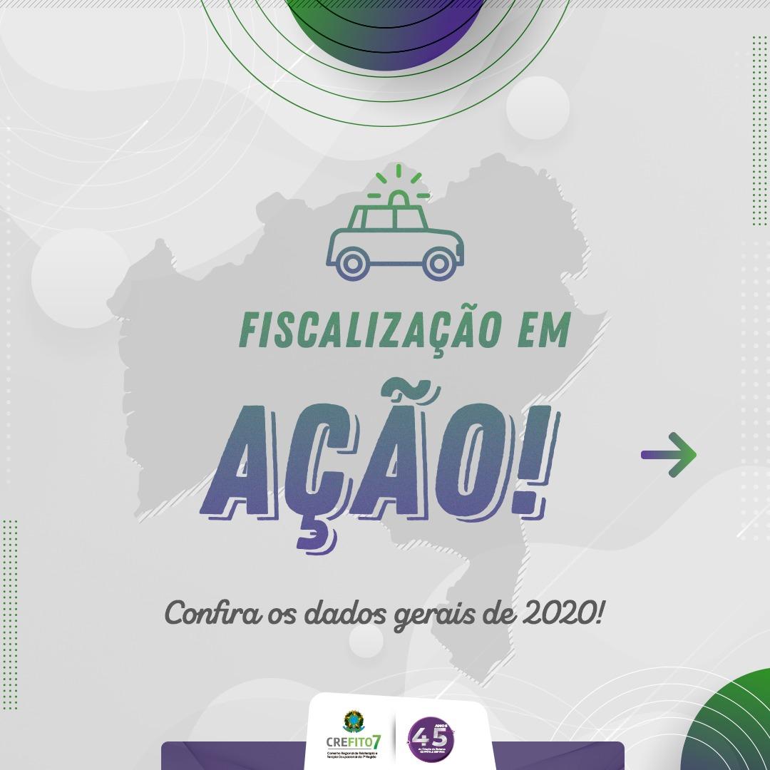 Dados gerais da Fiscalização 2020
