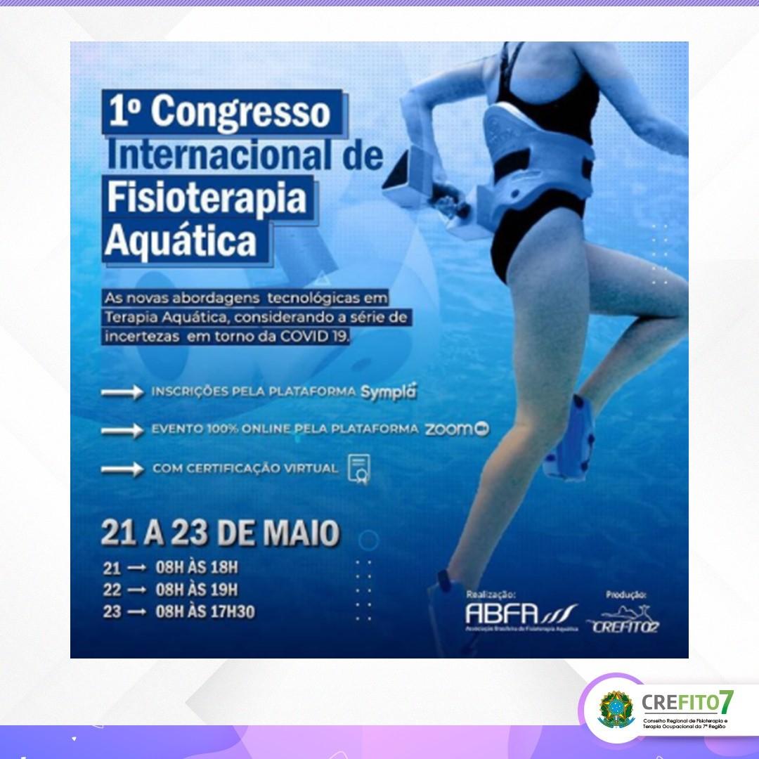 1º Congresso Internacional de Fisioterapia Aquática