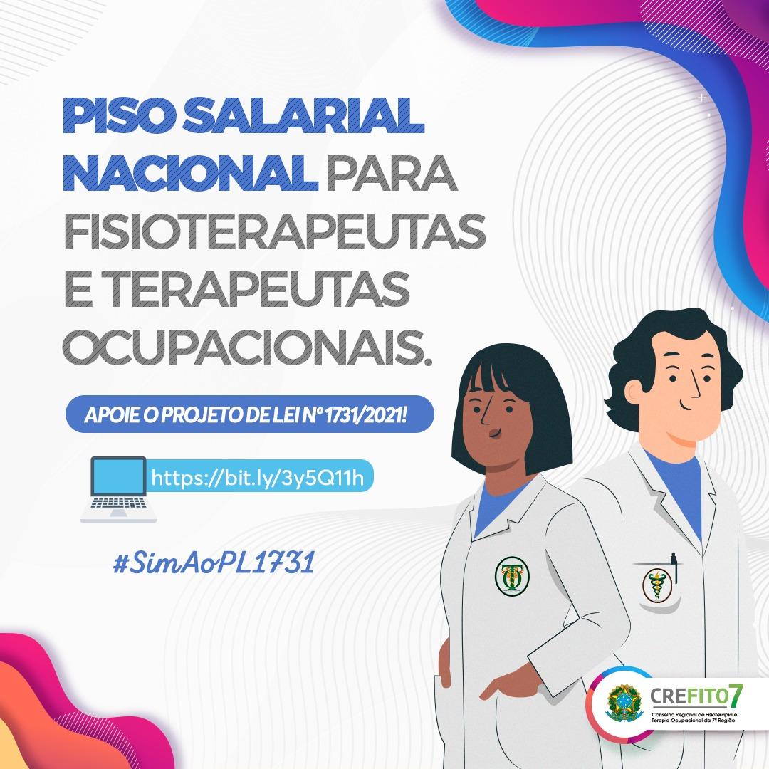 Piso salarial nacional para fisioterapeutas e terapeutas ocupacionais