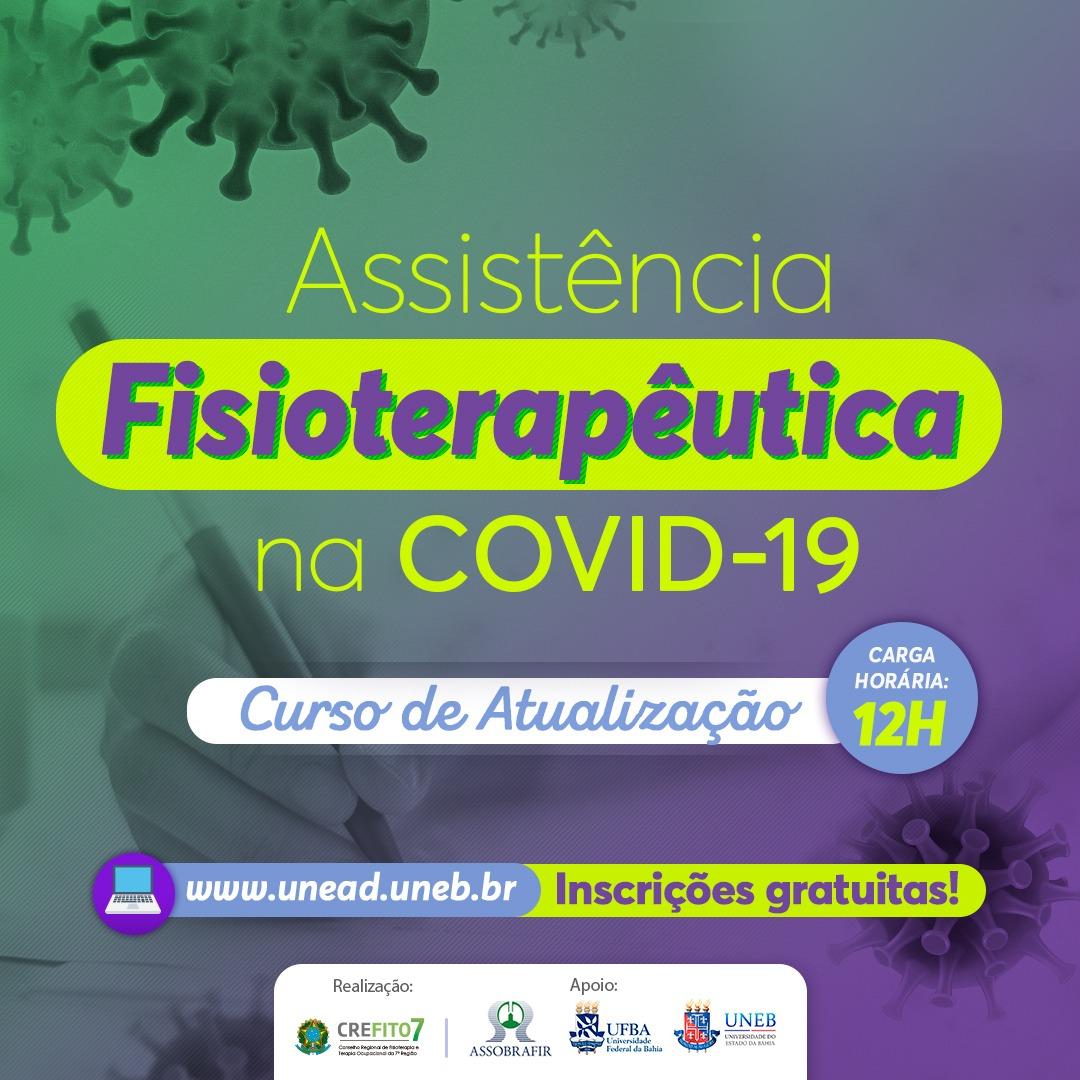 Curso de Atualização: Assistência Fisioterapêutica na COVID-19
