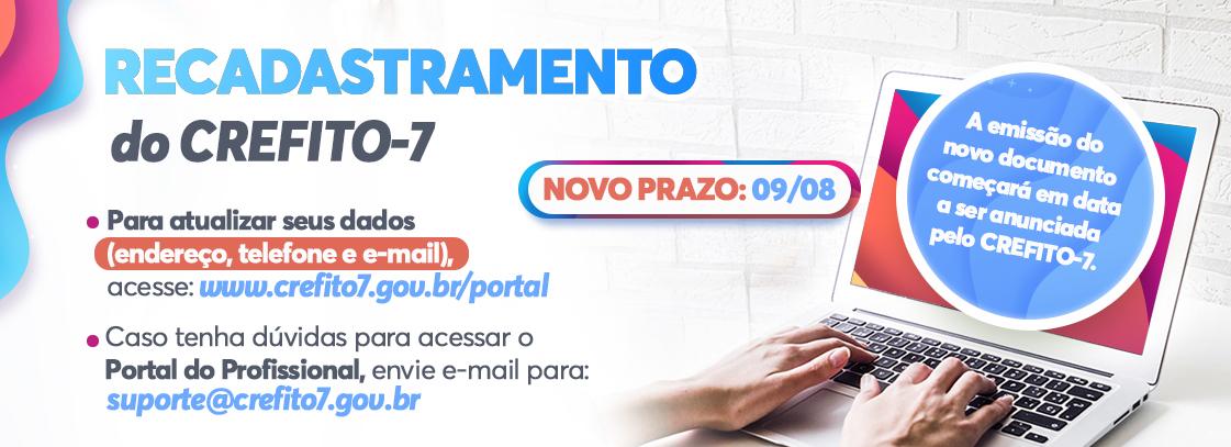 Read more about the article Recadastramento