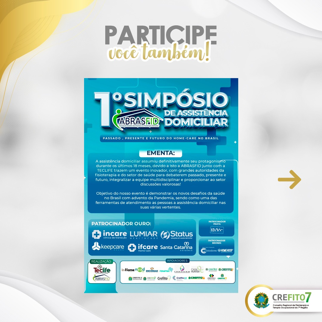 Read more about the article I Simpósio ABRASFID de Assistência Domiciliar