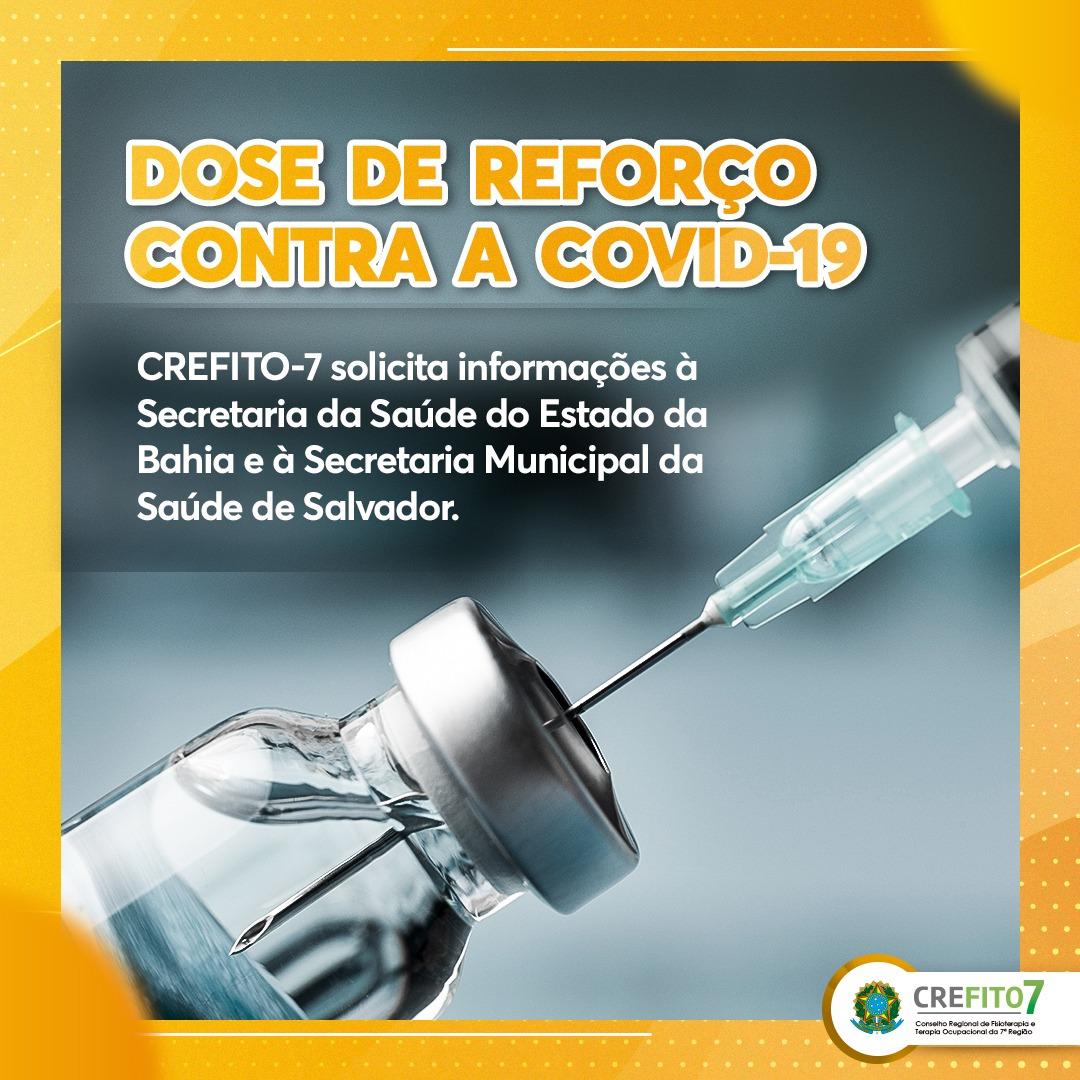 Dose de reforço contra a COVID-19