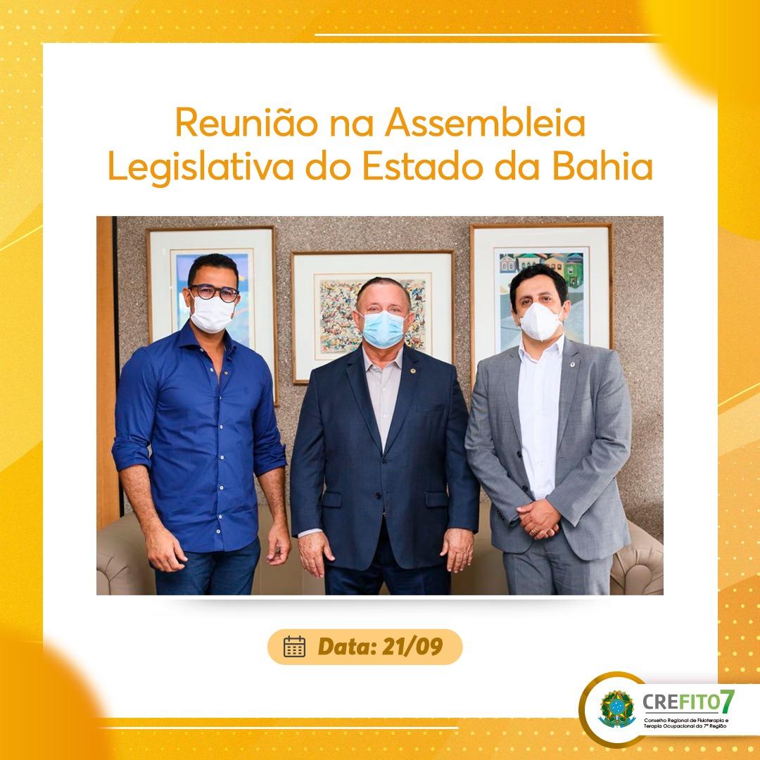 Reunião na Assembleia Legislativa do Estado da Bahia