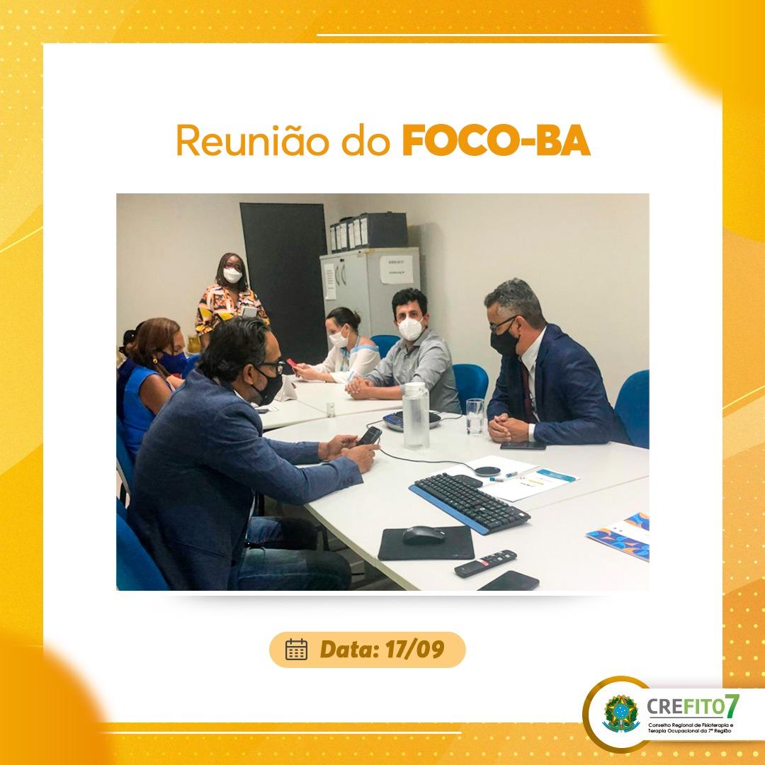 Reunião do FOCO-BA