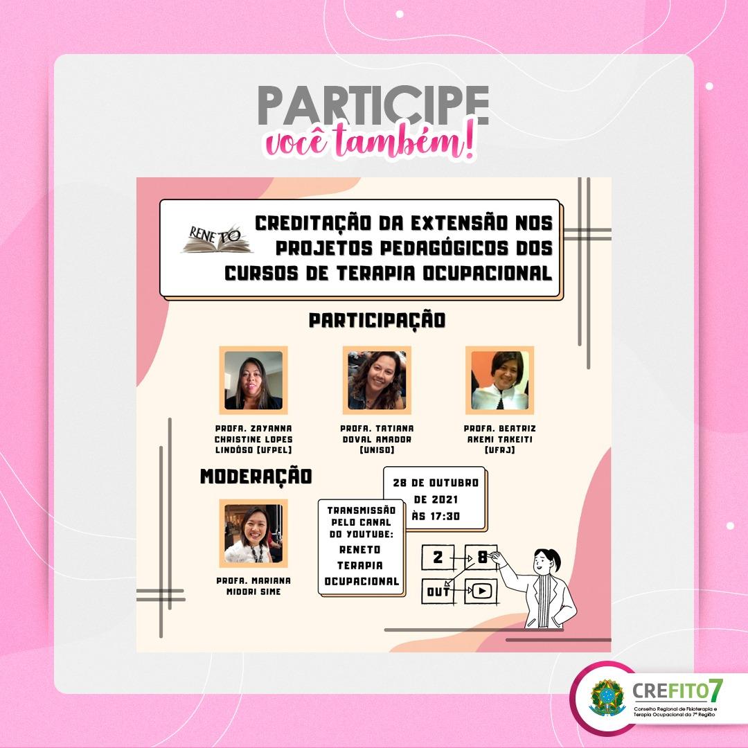 Creditação da extensão nos projetos pedagógicos dos cursos de Terapia Ocupacional no Brasil