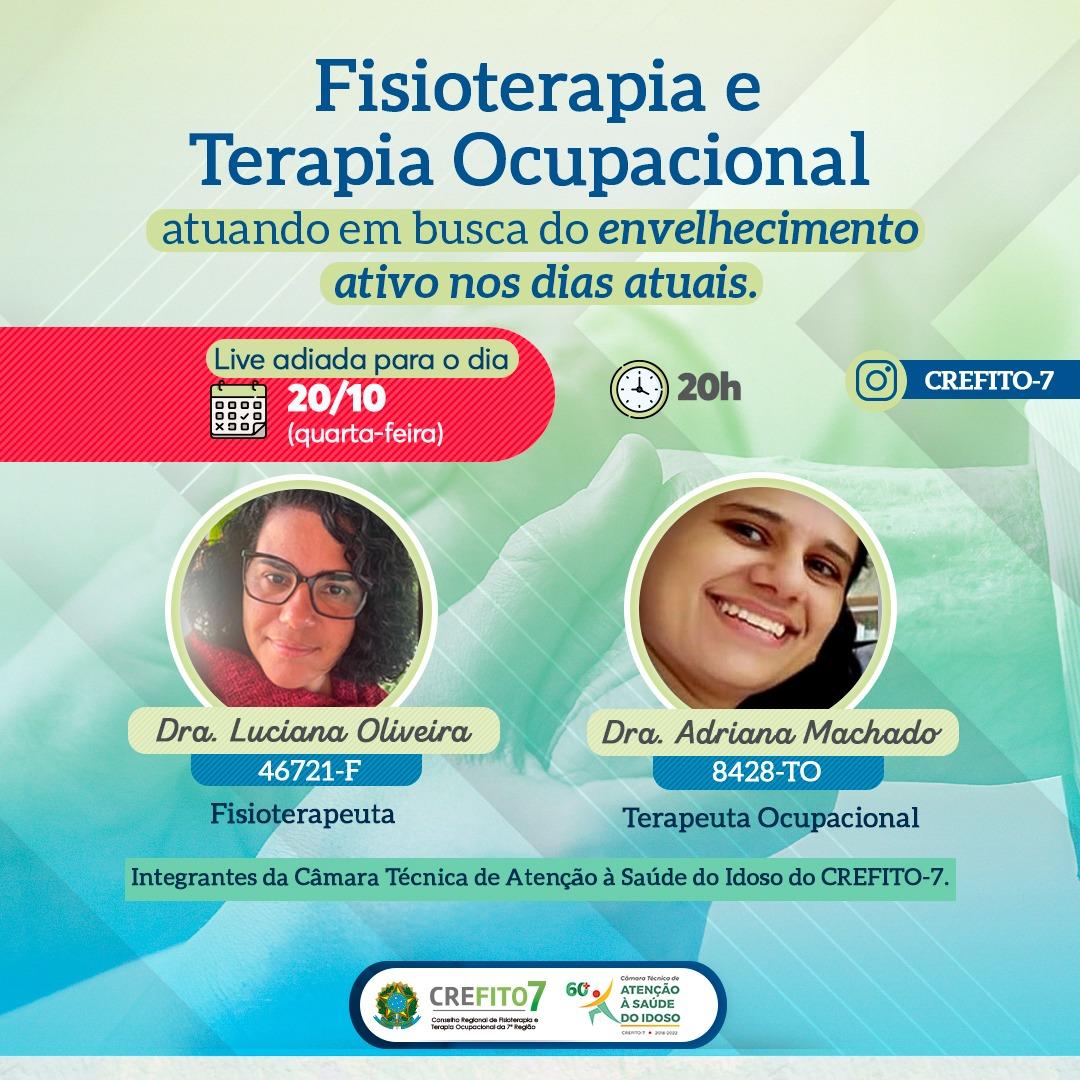 Read more about the article Nova data da live da Câmara Técnica de Atenção à Saúde do Idoso